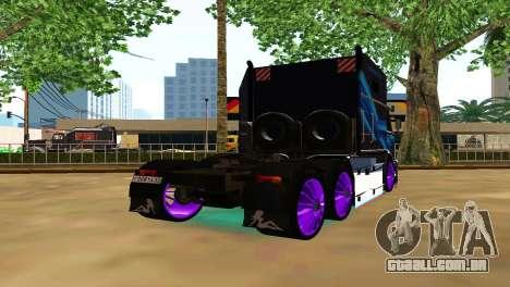 Kamaz 54112 TANKER TURBO para GTA San Andreas