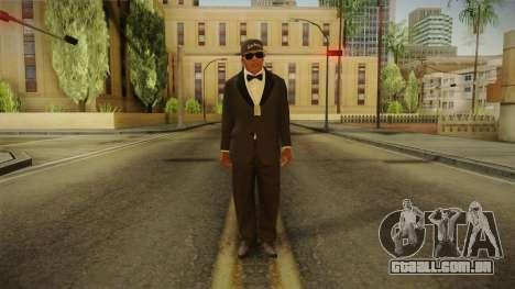 GTA 5 Franklin Tuxedo v4 para GTA San Andreas segunda tela