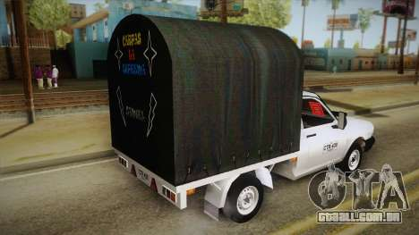 Dacia 1300 Drop Side para GTA San Andreas esquerda vista