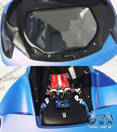 GTA 5 Ferrari 458 Italia v2.0 [replace] vista lateral direita