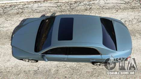 GTA 5 Bentley Flying Spur [add-on] voltar vista