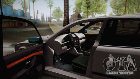 BMW M5 E39 Turbo King para GTA San Andreas vista traseira