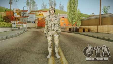 Multicam US Army 2 v2 para GTA San Andreas segunda tela