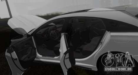 Mercedes-Benz CLA 45 AMG para GTA San Andreas traseira esquerda vista