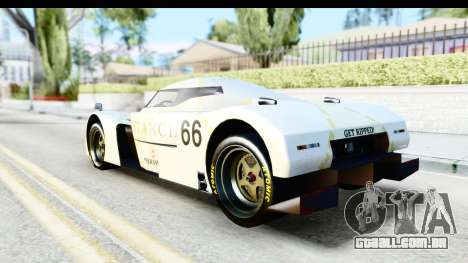 GTA 5 Annis RE-7B para GTA San Andreas vista interior