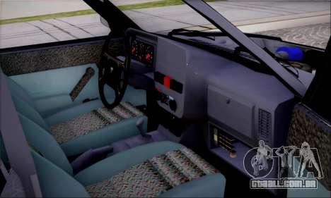 Tofas Dogan SLX 1.6 i.e para GTA San Andreas vista traseira