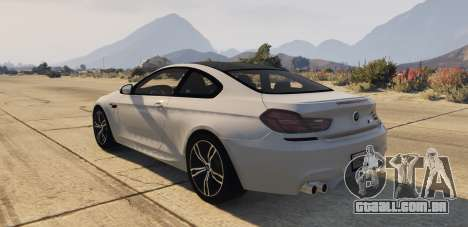GTA 5 BMW M6 F13 Coupe 2013 vista lateral esquerda