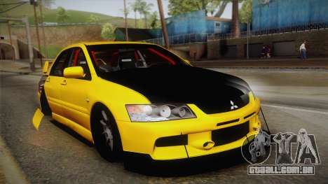 Mitsubishi Lancer Evolution IX Tuned para GTA San Andreas