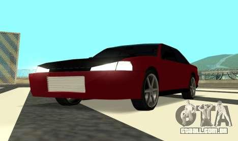 Sultan Kaefoon para GTA San Andreas vista traseira