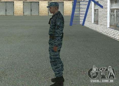 Motim de policiais (verão) para GTA San Andreas segunda tela