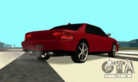 Sultan Kaefoon para GTA San Andreas vista direita