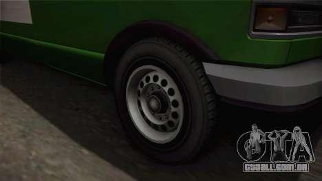 GTA 4 Burrito para GTA San Andreas vista traseira