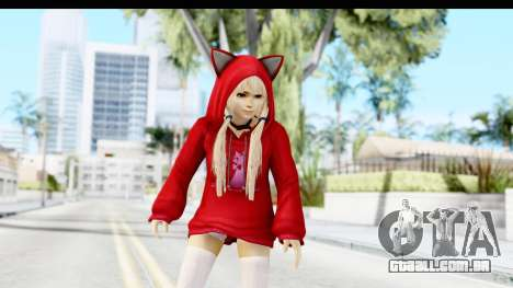 Marie Rose Newcomer Dark Red para GTA San Andreas