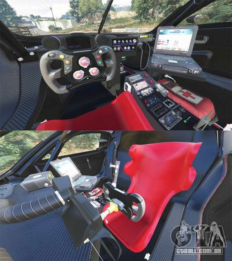 GTA 5 Renault Sport RS 01 2014 Police Interceptor [r] traseira direita vista lateral