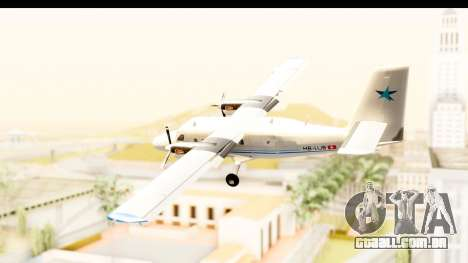 DHC-6-400 Zimex Aviation para GTA San Andreas esquerda vista