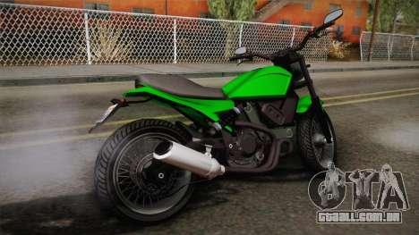GTA 5 Pegassi Esskey IVF para GTA San Andreas esquerda vista