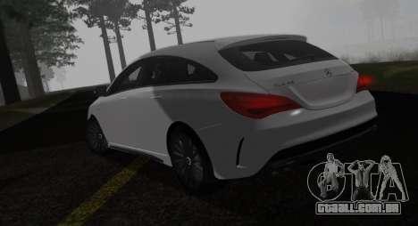 Mercedes-Benz CLA 45 AMG para GTA San Andreas esquerda vista
