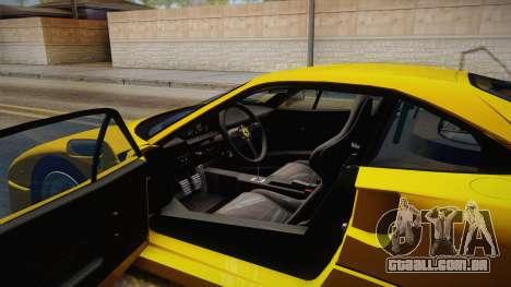 Ferrari F40 (EU-Spec) 1989 IVF para GTA San Andreas vista interior