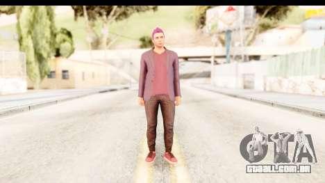 GTA 5 Random Skin 1 para GTA San Andreas segunda tela