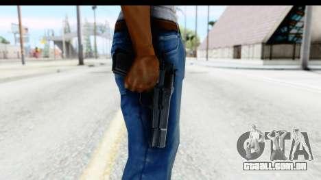 Browning Hi-Power para GTA San Andreas terceira tela