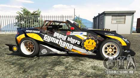 GTA 5 Mazda MX-5 (ND) RADBUL Mango v1.1 [replace] vista lateral esquerda