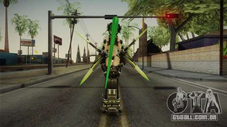 NEXT Green Heart para GTA San Andreas terceira tela