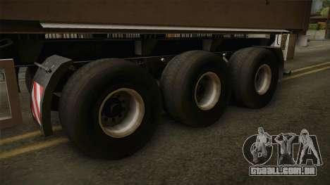 SRB35 para GTA San Andreas vista traseira