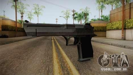 Counter Strike: Source - Desert Eagle para GTA San Andreas segunda tela
