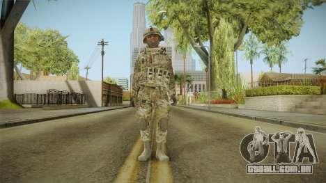Multicam US Army 3 v2 para GTA San Andreas