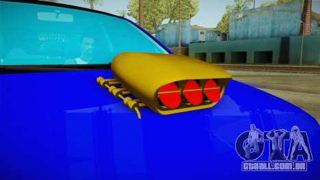 Dacia Logan Stance Haur Edition para GTA San Andreas vista interior