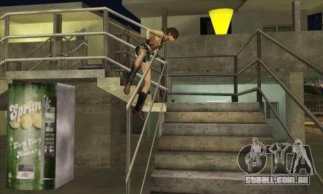Rebecca Chambers Cowgirl para GTA San Andreas