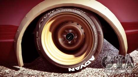 GTA 5 Nissan Skyline GT-R C110 Liberty Walk [replace] traseira direita vista lateral