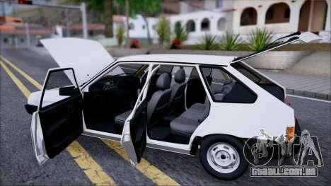 2109 STOKE para GTA San Andreas vista traseira