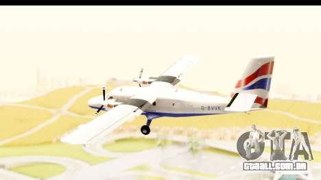 DHC-6-400 de Havilland Canada para GTA San Andreas vista direita