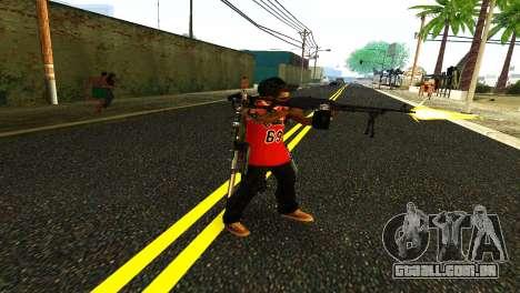 PKM Preto para GTA San Andreas segunda tela