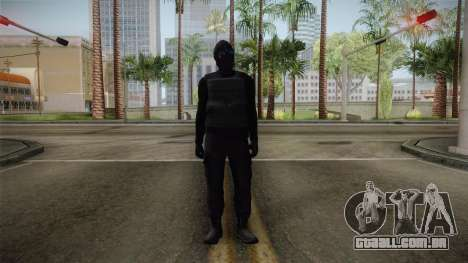 GTA 5 Heists DLC Male Skin 1 para GTA San Andreas