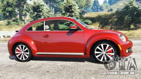 Volkswagen Beetle Turbo 2012 [replace] para GTA 5