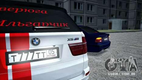 BMW MX5 para GTA San Andreas traseira esquerda vista