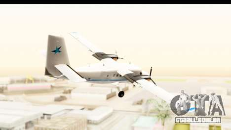 DHC-6-400 Zimex Aviation para GTA San Andreas vista direita