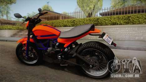 GTA 5 Pegassi Esskey PJ2 para GTA San Andreas esquerda vista