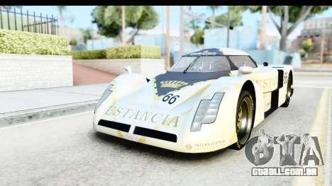 GTA 5 Annis RE-7B para GTA San Andreas vista traseira
