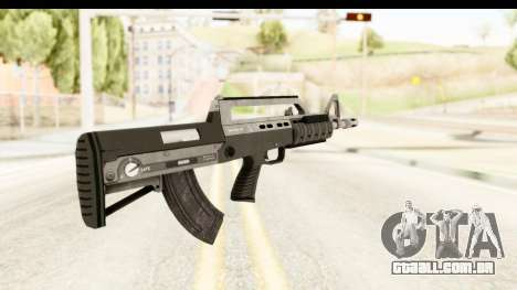 GTA 5 Hawk & Little Bullpup Rifle para GTA San Andreas segunda tela