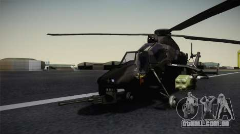Eurocopter Tiger para GTA San Andreas