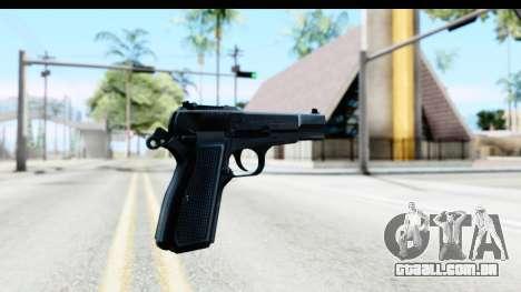 Browning Hi-Power para GTA San Andreas segunda tela