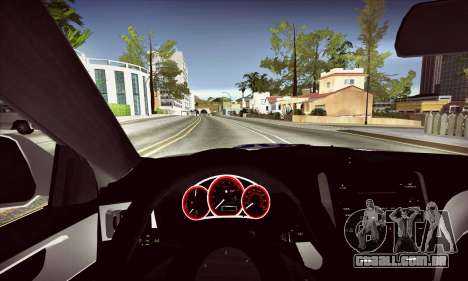 Subaru Impreza WRX STI Police para GTA San Andreas vista interior