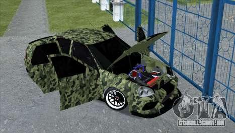 Lada Priora Style para GTA San Andreas traseira esquerda vista