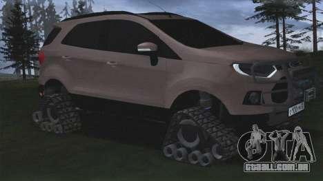Ford Ecosport Off-Road para GTA San Andreas