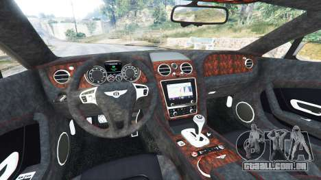 GTA 5 Bentley Continental GT 2012 [replace] vista lateral direita