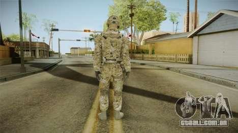 Multicam US Army 2 v2 para GTA San Andreas terceira tela