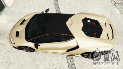 GTA 5 Lamborghini Centenario LP770-4 2017 v1.3 [r] voltar vista